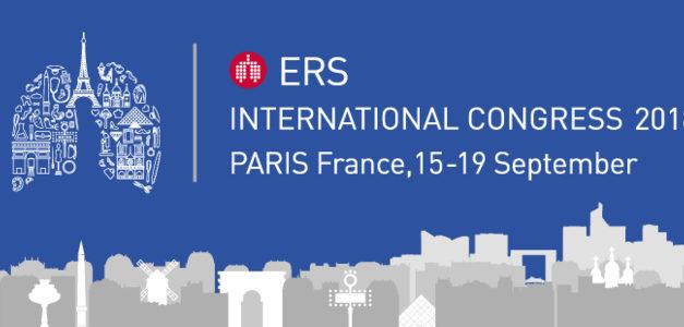 Congrès de l'ERS à Paris du 15 au 19 septembre 2018