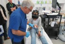 Realité virtuelle immersive et douleur des brûlés pendant la rééducation