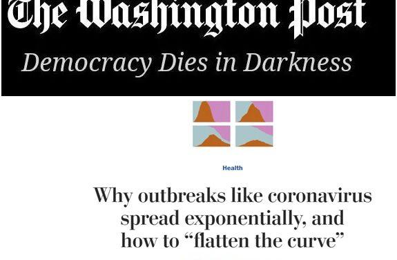"""Pourquoi des épidémies comme celle du coronavirus se propagent de manière exponentielle et comment """"aplatir la courbe""""?"""