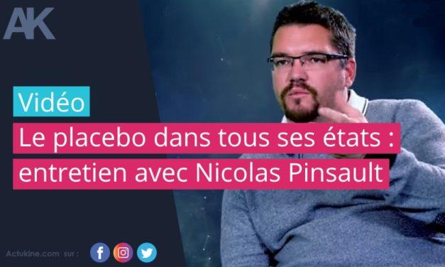 Le placebo dans tous ses états : entretien avec Nicolas Pinsault