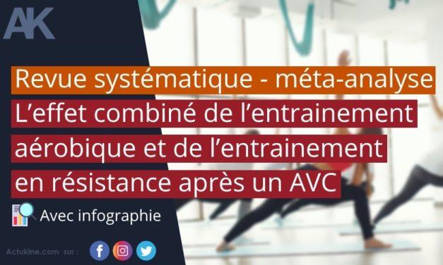 L'effet combiné de l'entrainement aérobique et de l'entrainement en résistance après un AVC – Revue systématique et méta-analyse