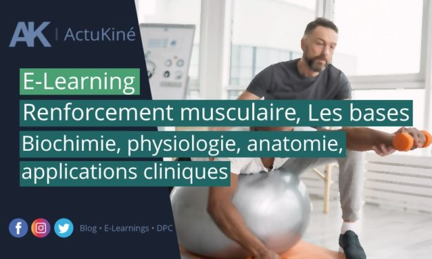 E-Learning de novembre : Renforcement musculaire, les bases !