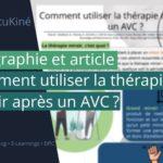 Comment réaliser la thérapie miroir après un AVC? Les données issue d'une méta-analyse