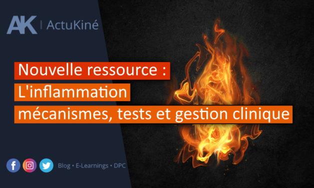 Nouvelle ressource : l'inflammation !
