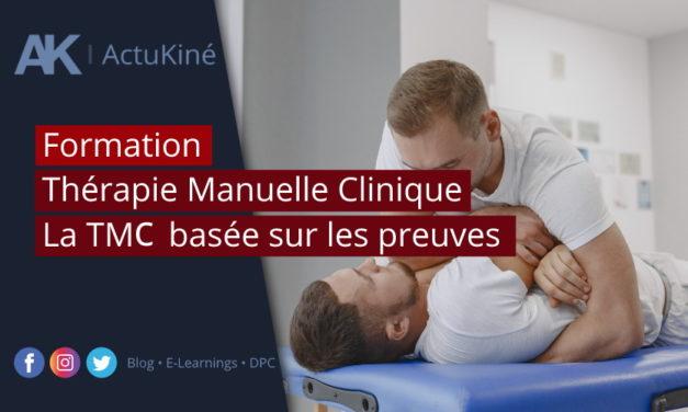 Formation : Thérapie Manuelle Clinique (TMC) session de Mai disponible