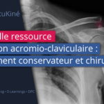 Nouvelle ressource : Luxation de l'acromio-claviculaire: traitement conservateur et chirurgical